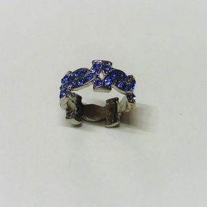 Jewelry - Sparkling Blue Fashion Ring